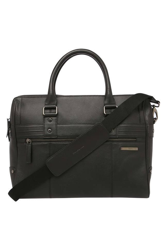 Unisex 2 Compartment Zipper Closure Laptop Sling Bag