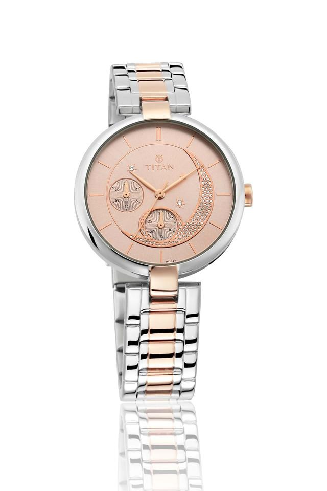 Womens Analogue Stainless Steel Watch - 95086KM01