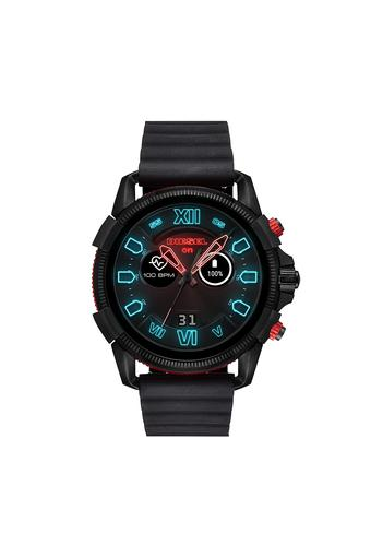 ac2e787f Buy DIESEL Mens Full Guard 2.5 Black Silicone Smart Watch - DZT2010 |  Shoppers Stop