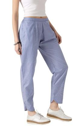 Womens Checked Trouser