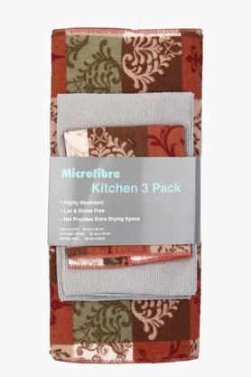 Printed Kitchen Dish Cloth Set of 3