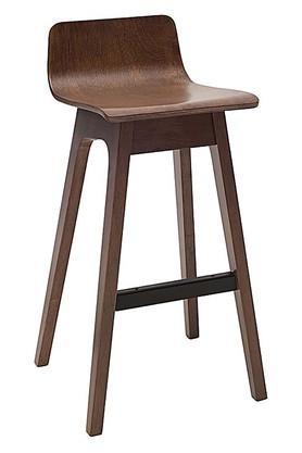 Brown Keyser Bar Chair