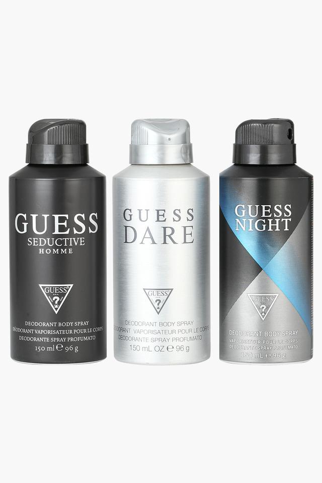 Mens Seductive Homme Dare and Night Body Spray Pack of 3 - 150ml