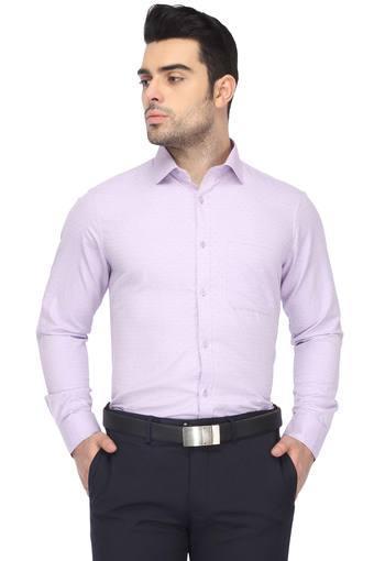 Mens Self Pattern Formal Shirt