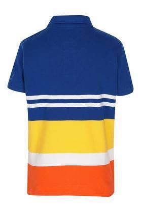 Boys Stripe Polo Tee