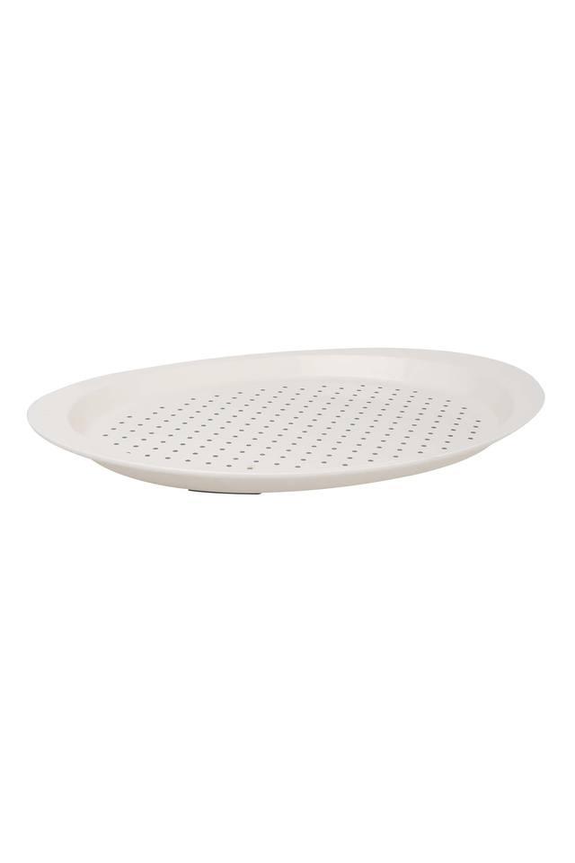 Oval Printed Anti Slip Tray