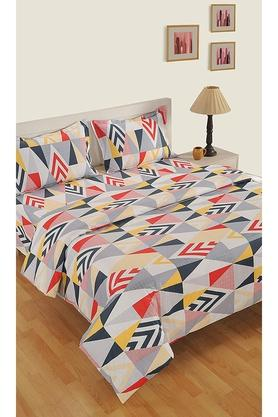 SWAYAMCotton Geometric Printed Double AC Comforter - 204762423_7086