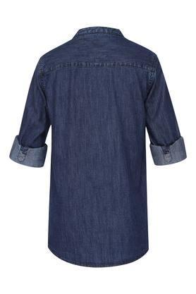 Boys Mandarin Collar Assorted Shirt