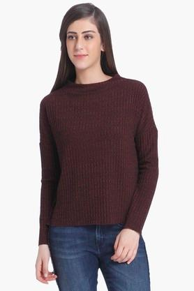ONLY Womens Solid Casual Pullover