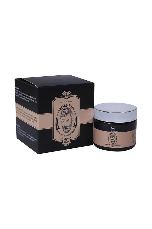 Mens Argan and Geranium Beard Wax - 50ml