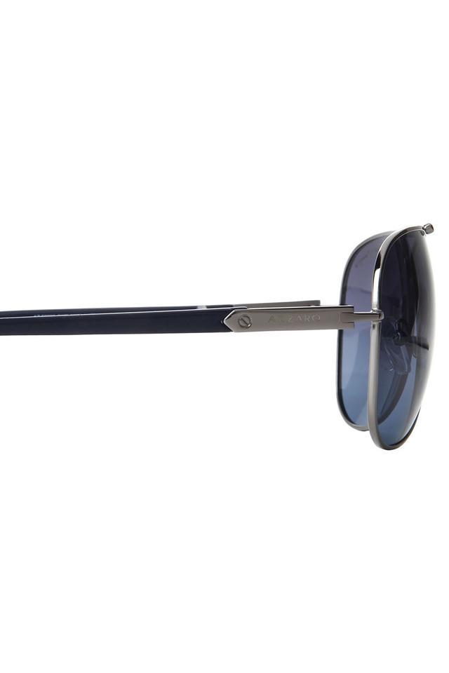 Mens Full Rim Polarized Lens Aviator Sunglasses - AZ60022C035