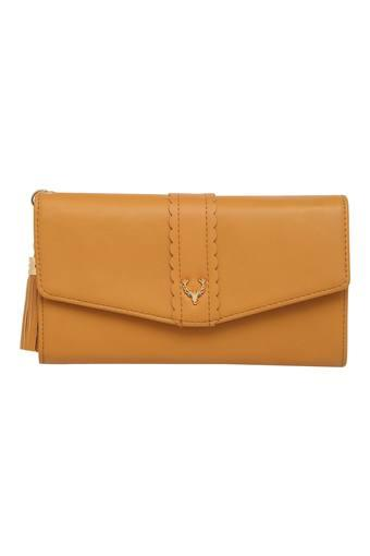 ALLEN SOLLY -  Tan Wallets & Clutches - Main