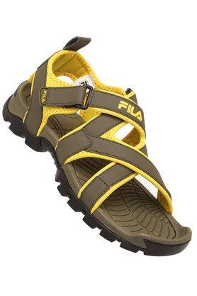 FILAMens Synthetic Velcro Closure Sandals - 203636211_9465