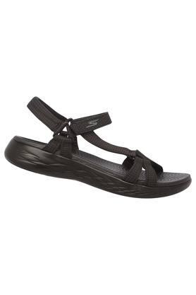 Womens Casual Wear Velcro Closure Sandals