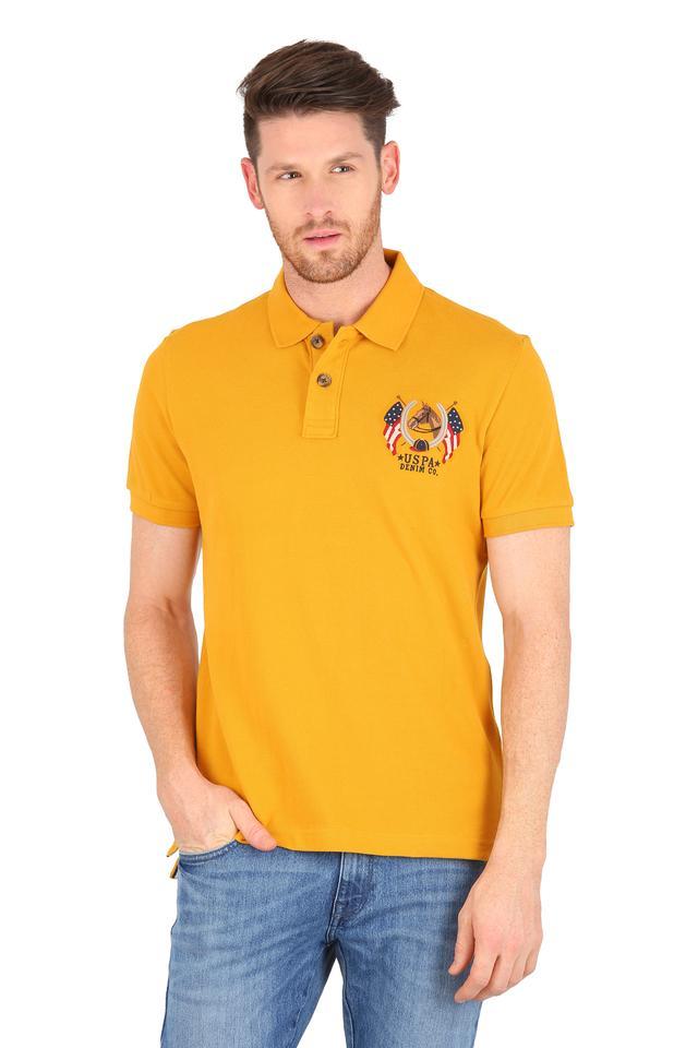 U.S. POLO ASSN. DENIM - Imperial YellowT-Shirts & Polos - Main