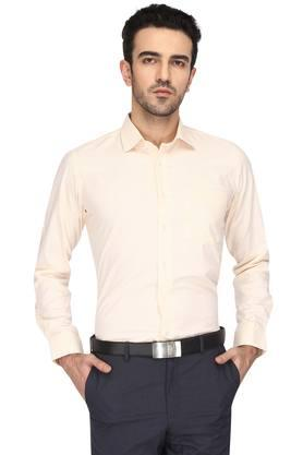 Mens Slim Collar Stripe Shirt