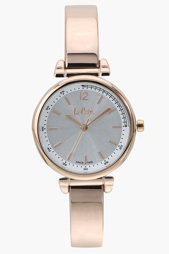 Womens Analogue Silver Dial Metallic Watch - LC06586430
