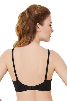Womens Solid Full Coverage Bra
