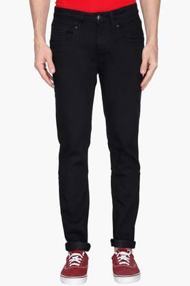 ED HARDYMens Extra Slim Fit Coated Jeans