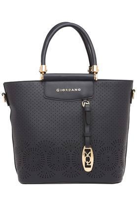 GIORDANOWomens Zipper Closure Satchel Handbag - 203977649_9212