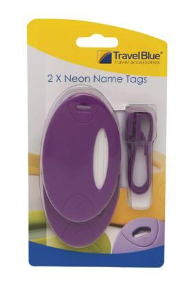 Solid Name Tags Pack of 2