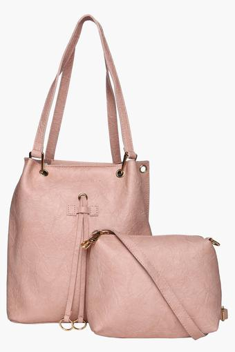 1396e5b6af0 Womens Zipper Closure Tote Handbag with Sling Bag
