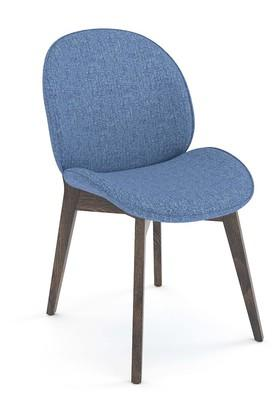 Blue Marty side Chair