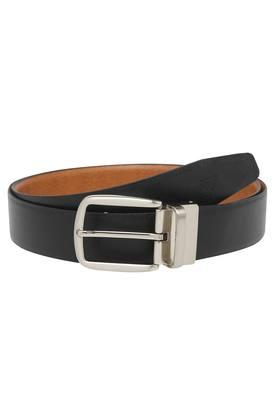 VETTORIO FRATINI Mens Leather Buckle Closure Formal Belt - 203863859