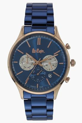 Mens Blue Dial Multi-Function Watch - NLC06295490