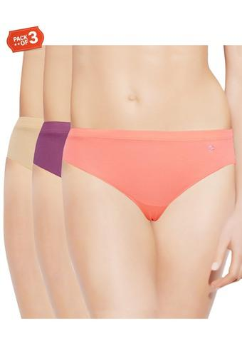 81f7e1c42277 Buy ENAMOR Womens Solid Hipster Briefs - Pack of 3 | Shoppers Stop