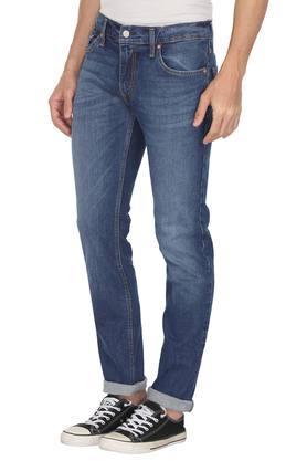 Mens 5 Pocket Mild Wash Jeans (511)