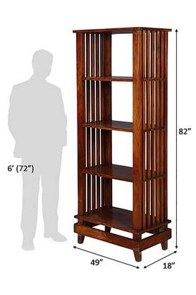 Dark Walnut Dark Frey Bookshelf