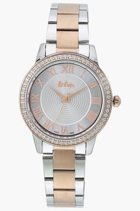 Womens Analogue Off White Dial Metallic Watch - LC06579530