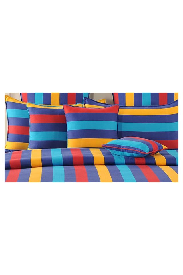 Stripe Single Bed Sheet with 1 Pillow Cover