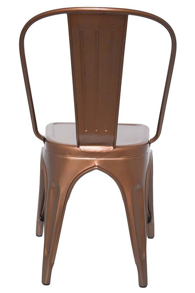 Brown Stylo Chairs Set of 2