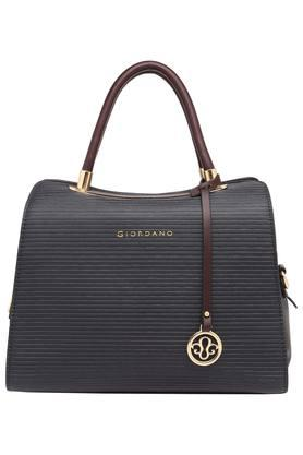 GIORDANOWomens Zipper Closure Satchel Handbag - 203977652_9308