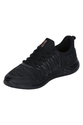 ATHLEISURE Mens Mesh Lace Up Sports Shoes - 204738393_9212