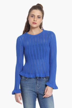ONLYWomens Perforated Pullover