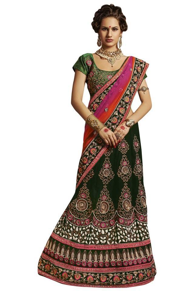 Womens Net Velvet Designer Saree