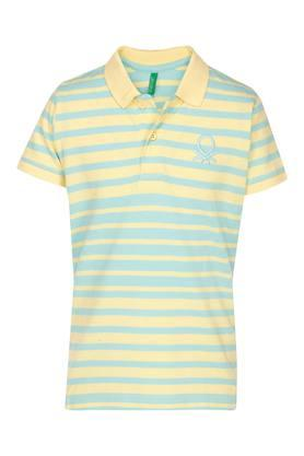 Boys Stripe Polo Tee