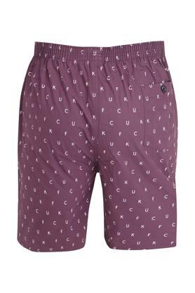 Mens 2 Pocket Printed Bermudas
