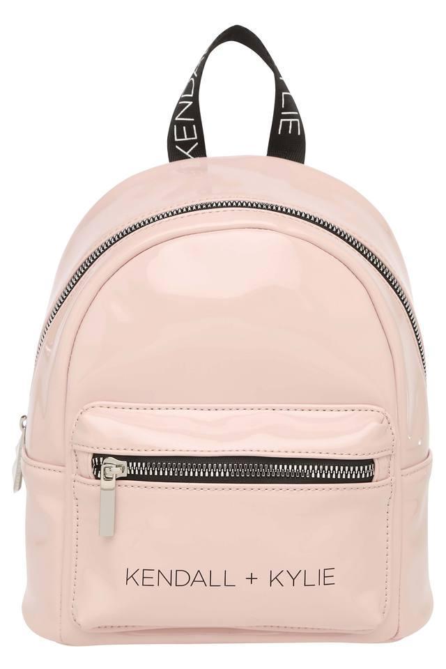 Womens Zip Closure Mini Backpack