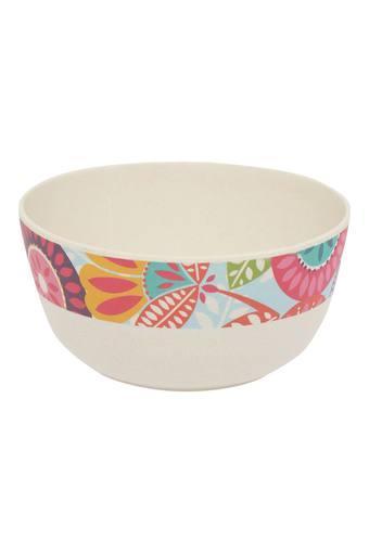Round Fantasia Printed Serving Bowl