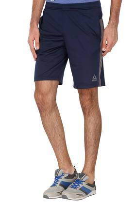 Mens 2 Pocket Solid Shorts