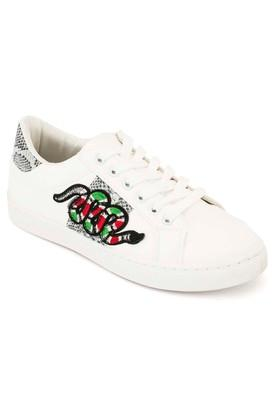 TRUFFLE COLLECTIONWomens Casual Wear Lace Up Sneakers