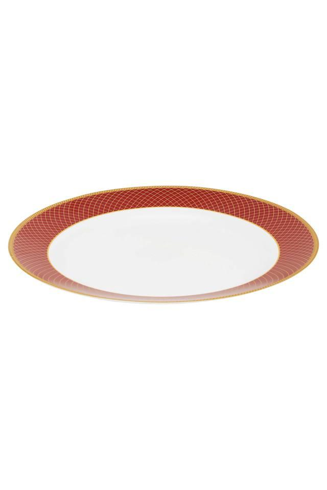 Regent Round Colour Block Platter