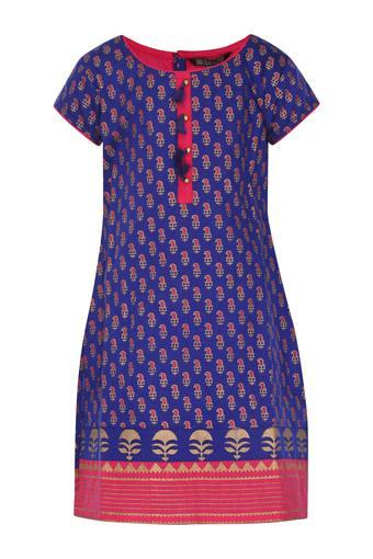 STOP -  Royal BlueIndianwear - Main