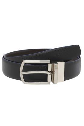 VETTORIO FRATINI Mens Leather Buckle Closure Formal Belt - 203823460