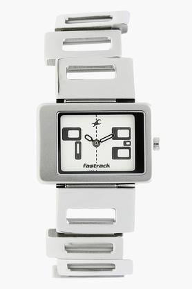 Fastrack Womens Analogue Brass Watch - NJ2404SM01 image