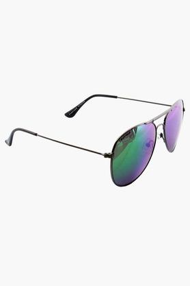 Buy Fastrack M184PR4 Unisex Aviator Full Rim Sunglasses Online at Best Price in India
